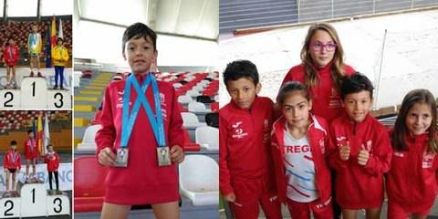 Infominho - El guardés Álex Sierpes de Atletismo Trega consigue Oro, Plata y récord en el Campeonato Gallego de pista cubierta - INFOMIÑO - Informacion y noticias del Baixo Miño y Alrededores.