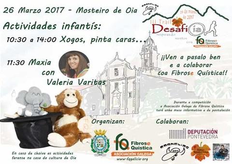Infominho - A Asociación Galega de Fibrose Quística e o Concello de Oia organizan este domingo varias actividades coincidindo co III Trail Desafío Oia  - INFOMIÑO - Informacion y noticias del Baixo Miño y Alrededores.