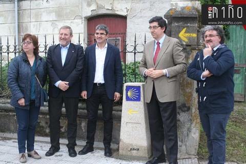 Infominho - A Xunta sinaliza o Camiño Portugués da Costa ao seu paso polo concello da Guarda con 16 mouteiras oficiais - INFOMIÑO - Informacion y noticias del Baixo Miño y Alrededores.