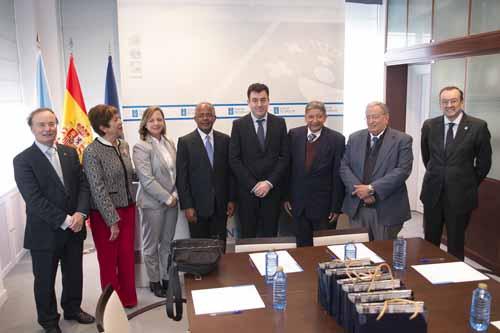 Infominho - A República Dominicana toma Galicia como referente de calidade universitaria - INFOMIÑO - Informacion y noticias del Baixo Miño y Alrededores.