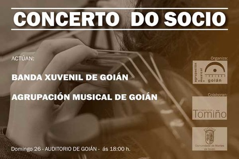 Infominho - A Banda de Goián celebra este domingo o Concerto do Socio - INFOMIÑO - Informacion y noticias del Baixo Miño y Alrededores.