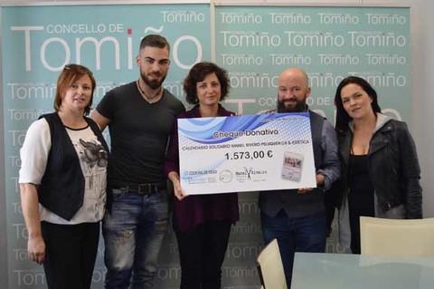 Infominho - Un calendario solidario recauda 1.573 euros para axudar ás familias con menos recursos - INFOMIÑO - Informacion y noticias del Baixo Miño y Alrededores.