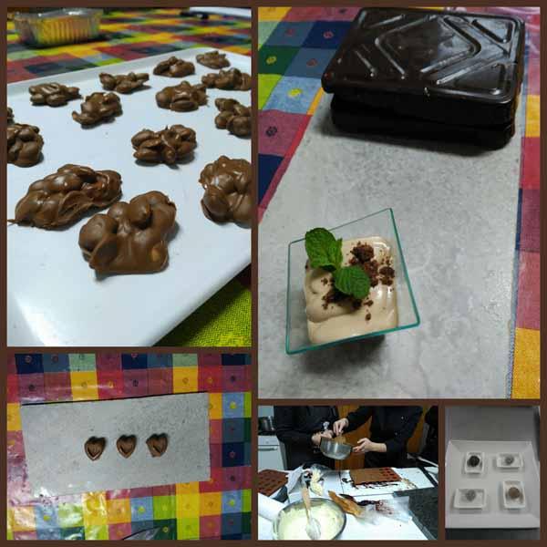 Infominho - Inicio do obradoiro de cociña sobre a elaboración de chocolates na Guarda  - INFOMIÑO - Informacion y noticias del Baixo Miño y Alrededores.