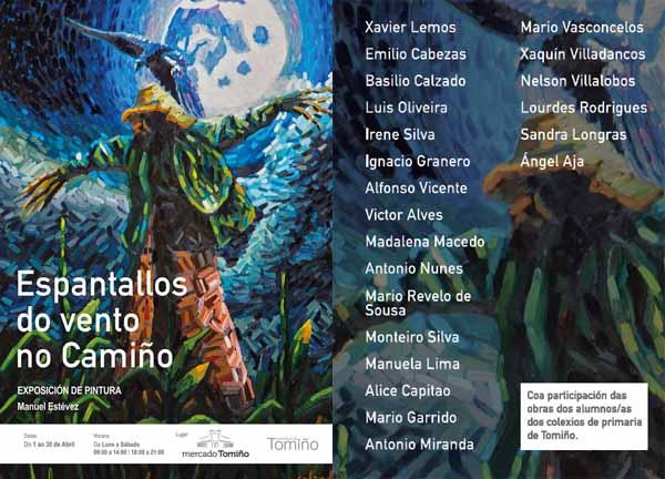 Infominho - Unha vintena de artistas luso galaicos renden tributo á figura do espantallo en Tomiño - INFOMIÑO - Informacion y noticias del Baixo Miño y Alrededores.