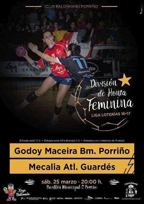 Infominho - El Godoy Maceira Porriño recibe al Mecalia Guardés - INFOMIÑO - Informacion y noticias del Baixo Miño y Alrededores.