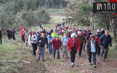 Infominho - Especial - A Ruta -Camiño dos Burros- congregou este sábado a camiñantes de A Guarda e Caminha - INFOMIÑO - Informacion y noticias del Baixo Miño y Alrededores.