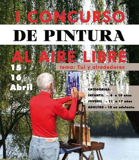 Infominho - AciTui convoca el I Concurso de Pintura al Aire Libre de Tui - INFOMIÑO - Informacion y noticias del Baixo Miño y Alrededores.