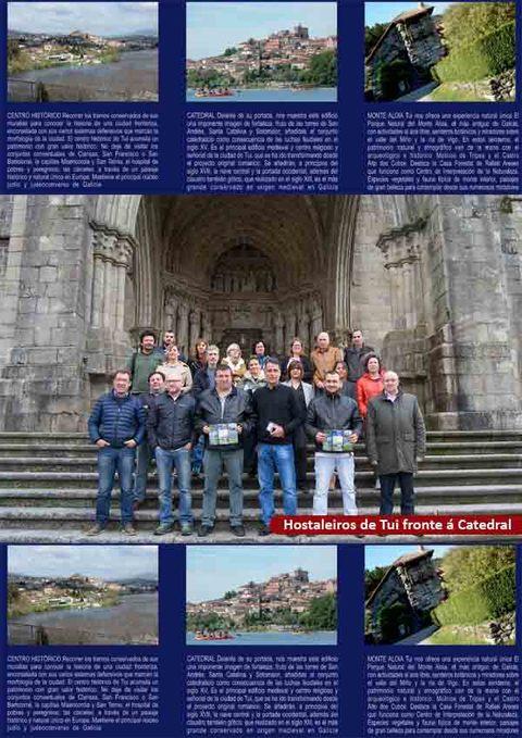 Infominho -  Tui reúne nun folleto turístico a oferta hostaleira, de actividades de lecer e patrimoniais do municipio - INFOMIÑO - Informacion y noticias del Baixo Miño y Alrededores.