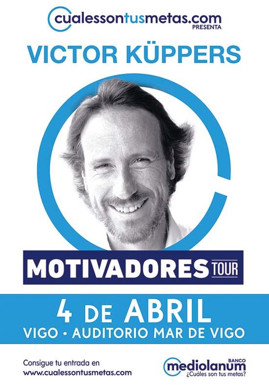 Infominho - Victor Küppers inaugura este martes en Vigo el Motivadores Tour de Banco Mediolanum - INFOMIÑO - Informacion y noticias del Baixo Miño y Alrededores.