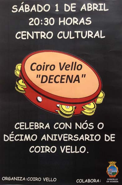 Infominho - O grupo de pandereteiras Coiro Vello festexa esta tarde o seu 10º aniversario - INFOMIÑO - Informacion y noticias del Baixo Miño y Alrededores.