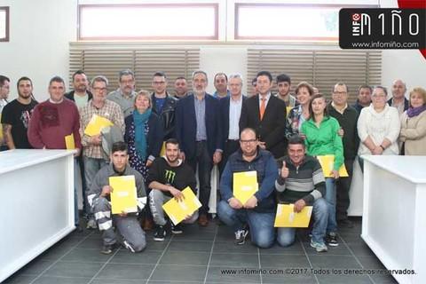 Infominho - Especial - Clausura do Obradoiro de Emprego -Mercado de San Miguel- no Rosal - INFOMIÑO - Informacion y noticias del Baixo Miño y Alrededores.