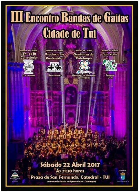 Infominho - O III Encontro de Bandas de Gaitas Cidade de Tui celebraráse este sábado - INFOMIÑO - Informacion y noticias del Baixo Miño y Alrededores.
