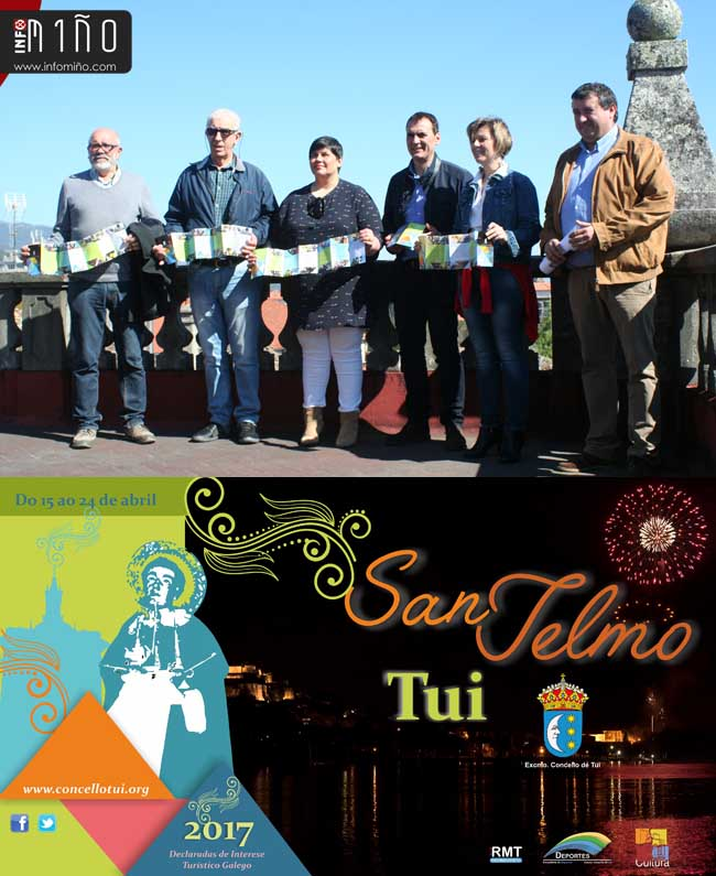 Infominho - Tui celebra do 15 ao 24 de abril as Festas de San Telmo pensadas para vivir na rúa - INFOMIÑO - Informacion y noticias del Baixo Miño y Alrededores.