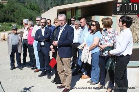 Infominho - Especial - O Rosal inaugurou a nova Área de recepción de visitantes para o Complexo Etnográfico dos Muíños do Folón e do Picón - INFOMIÑO - Informacion y noticias del Baixo Miño y Alrededores.