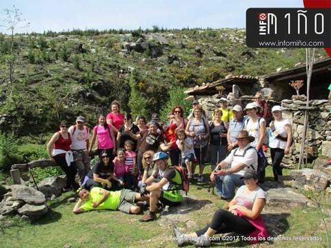 Infominho - Especial - Preto dunha trintena de persoas participaron nunha andaina polos Montes de Acevedo e os Muíños da Cal - INFOMIÑO - Informacion y noticias del Baixo Miño y Alrededores.