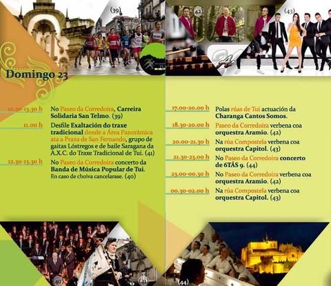 Infominho - Programación domingo 23 de Abril - Festas de San Telmo 2017 - INFOMIÑO - Informacion y noticias del Baixo Miño y Alrededores.