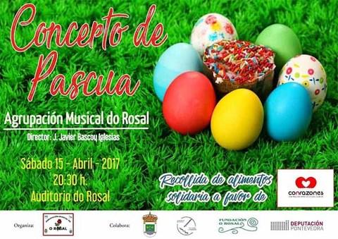 Infominho - A Agrupación Musical do Rosal organiza este sábado o Concerto de Pascua - INFOMIÑO - Informacion y noticias del Baixo Miño y Alrededores.