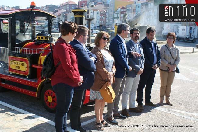Infominho - Especial - A Guarda y Caminha dispondrán de un tren turístico en Semana Santa - INFOMIÑO - Informacion y noticias del Baixo Miño y Alrededores.