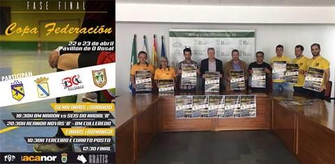 Infominho - O Rosal decide esta fin de semana o campión da Copa Federación - INFOMIÑO - Informacion y noticias del Baixo Miño y Alrededores.