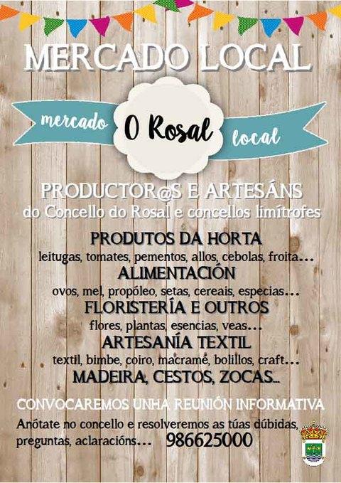 Infominho - A Praza do Calvario do Rosal acollerá un Mercado de productos locais os domingos pola mañá - INFOMIÑO - Informacion y noticias del Baixo Miño y Alrededores.