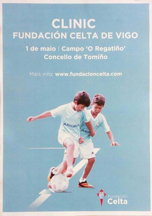 Infominho - Clinic da Fundación Celta de Vigo el 1 de Mayo en Goián - Tomiño - INFOMIÑO - Informacion y noticias del Baixo Miño y Alrededores.