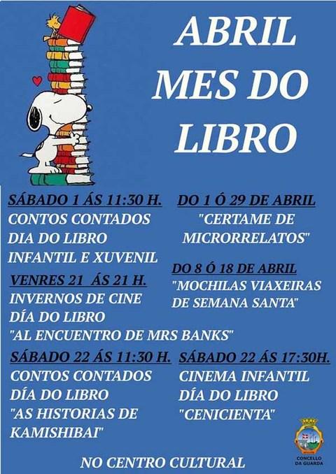 Infominho -  A Guarda adica a fin de semana ao Día Internacional do Libro - INFOMIÑO - Informacion y noticias del Baixo Miño y Alrededores.