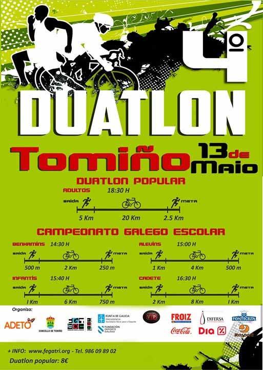 Infominho - Tomiño acolle o 13 de Maio o IV Duatlón Escolar - INFOMIÑO - Informacion y noticias del Baixo Miño y Alrededores.