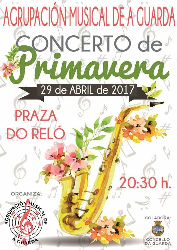 Infominho - Concerto de Primavera o sábado 29 de abril na Praza do Reló de A Guarda - INFOMIÑO - Informacion y noticias del Baixo Miño y Alrededores.