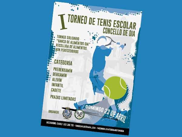 Infominho - Oia acoge este domingo el I Torneo de Tenis Escolar - INFOMIÑO - Informacion y noticias del Baixo Miño y Alrededores.