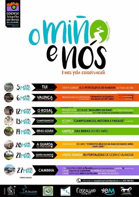 Infominho - Sete colectivos únense para facer un maio culturalmente diverso - INFOMIÑO - Informacion y noticias del Baixo Miño y Alrededores.