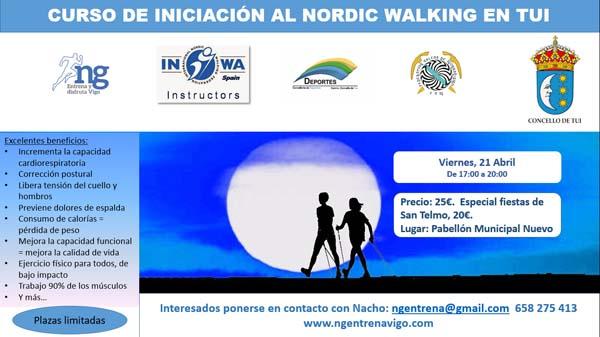 Infominho - Tui acolle este venres curso de iniciación á Marcha Nórdica - INFOMIÑO - Informacion y noticias del Baixo Miño y Alrededores.