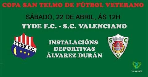 Infominho -  A Copa San Telmo de fútbol veterano enfrontará este sábado de novo ao Tyde F.C. e ao S.V. Valenciano - INFOMIÑO - Informacion y noticias del Baixo Miño y Alrededores.
