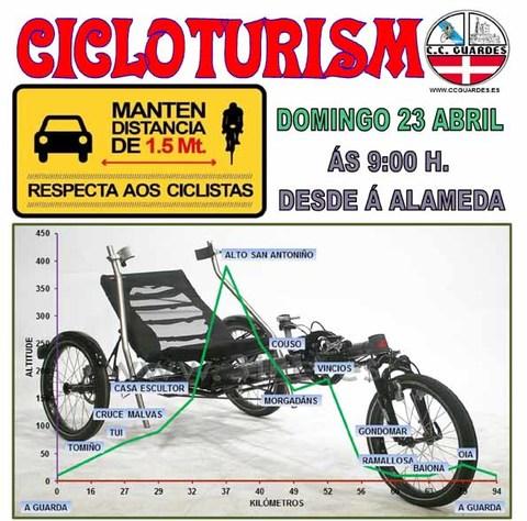 Infominho - Salida del Club Ciclista Guardés este domingo 23 de abril - INFOMIÑO - Informacion y noticias del Baixo Miño y Alrededores.