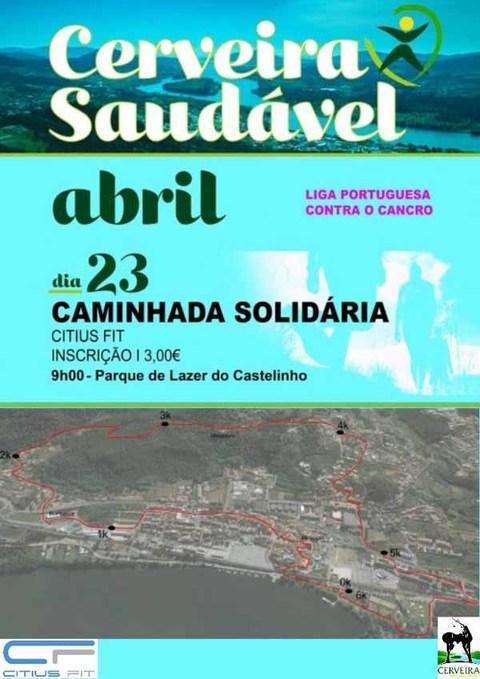 Infominho - Cerveira Saudável 2017 arranca este domingo com Caminhada Solidária para a LPCC - INFOMIÑO - Informacion y noticias del Baixo Miño y Alrededores.