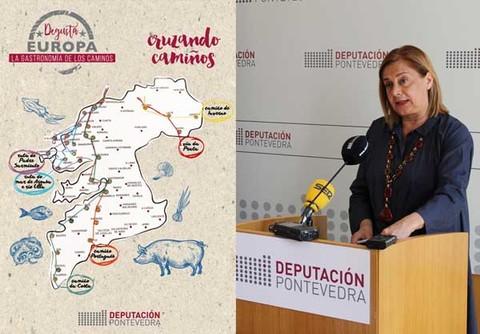 Infominho - Nova edición de -Degusta Europa- centrada na gastronomía dos Camiños Xacobeos que percorren a provincia de Pontevedra - INFOMIÑO - Informacion y noticias del Baixo Miño y Alrededores.