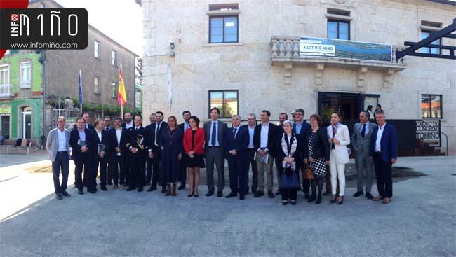 Infominho - Especial - 16 concellos galegos e 10 Cámaras de Portugal forman a nova AECT Río Miño - INFOMIÑO - Informacion y noticias del Baixo Miño y Alrededores.