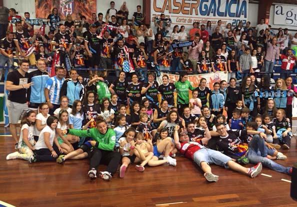Infominho - El Guardés más cerca del título de liga tras la victoria en A Sangriña - INFOMIÑO - Informacion y noticias del Baixo Miño y Alrededores.