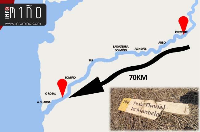 Infominho - La señal que navegó 70km por el Río Miño - INFOMIÑO - Informacion y noticias del Baixo Miño y Alrededores.