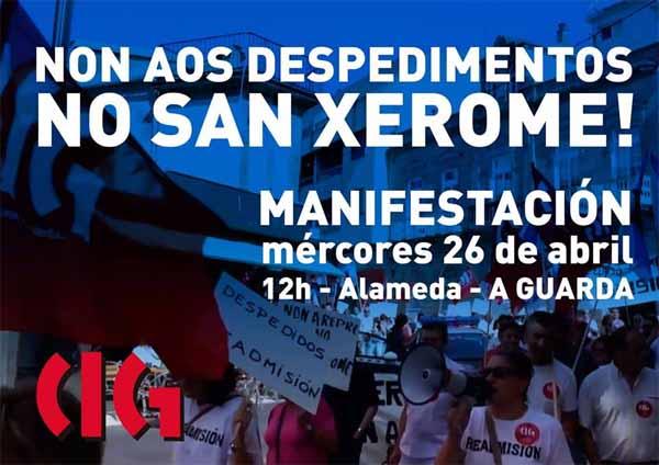 Infominho - O Comité de empresa do San Xerome Emiliani da Guarda denuncia o despedimento de dous traballadores  - INFOMIÑO - Informacion y noticias del Baixo Miño y Alrededores.