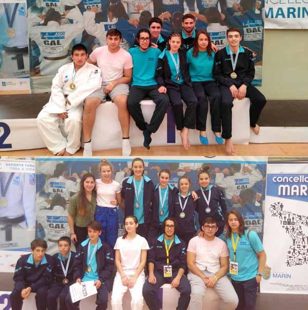 Infominho - Gran éxito del Club de Judo Baixo Miño  - INFOMIÑO - Informacion y noticias del Baixo Miño y Alrededores.