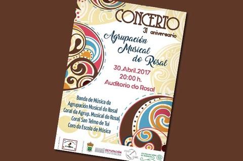 Infominho - A Agrupación Musical do Rosal celebra este domingo o seu 31º Aniversario - INFOMIÑO - Informacion y noticias del Baixo Miño y Alrededores.