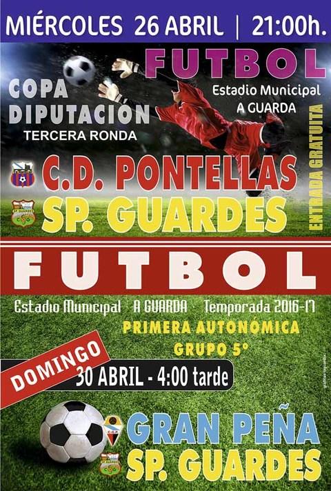 Infominho - El Sporting Guardés se enfrenta este miércoles al CD Pontellas en la tercera ronda de la  Copa Diputación - INFOMIÑO - Informacion y noticias del Baixo Miño y Alrededores.