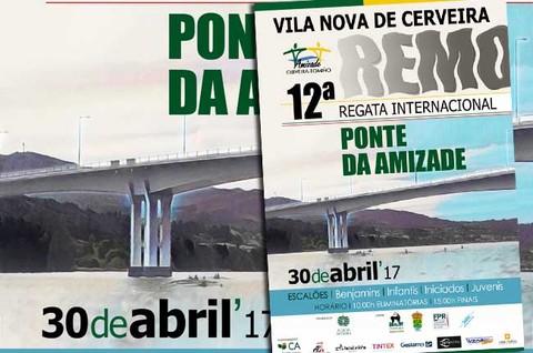 Infominho - 12.ª Regata Internacional Ponte da Amizade regressa domingo a Cerveira com mais de 400 atletas - INFOMIÑO - Informacion y noticias del Baixo Miño y Alrededores.