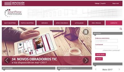 Infominho - -Smartpeme- duplica o número de participantes nos cursos de formación sobre as tic no primeiro trimestre de 2017 - INFOMIÑO - Informacion y noticias del Baixo Miño y Alrededores.