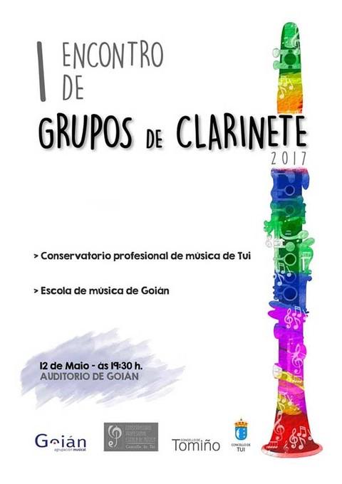 Infominho - I Encontro de grupos de Clarinete este venres no Auditorio de Goián - INFOMIÑO - Informacion y noticias del Baixo Miño y Alrededores.