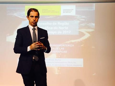Infominho - Francisco Marín explica las características y la gestión de la cuenca del Miño-Sil en el norte de Portugal - INFOMIÑO - Informacion y noticias del Baixo Miño y Alrededores.