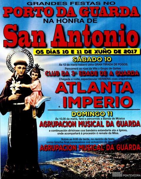 Infominho - O Porto de A Guarda acolle o 10 e 11 de Xuño as Festas na honra de San Antonio - INFOMIÑO - Informacion y noticias del Baixo Miño y Alrededores.