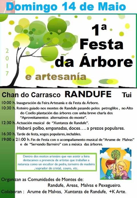 Infominho - Catro Comunidades de Montes tudenses festexan o 14 de maio a 1ª Festa da Arbore e Artesanía - INFOMIÑO - Informacion y noticias del Baixo Miño y Alrededores.