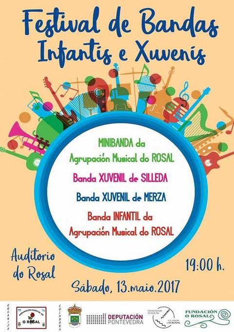 Infominho - O Rosal acoge este sábado un Festival de Bandas Infantil y Juvenil - INFOMIÑO - Informacion y noticias del Baixo Miño y Alrededores.