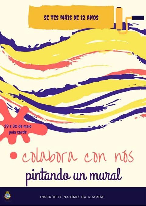 Infominho -  A Omix da Guarda convida ó pintado dun mural - INFOMIÑO - Informacion y noticias del Baixo Miño y Alrededores.